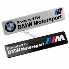 3D BMW Motorport Aluminum Emblem Dadge Sticker Decal for BMW 1 2 3 4 5 6 Series