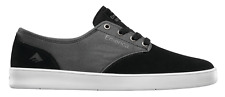 EMERICA THE ROMERO LACED BLACK GREY MENS SKATEBOARD SHOES FREE POST AUSTRALIA