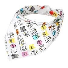 Unisex Infant Bandana Bibs Cotton Feeding Towel Lovely Triangle Head Scarf