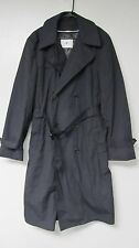 RAINCOAT WOMENS DRESS ALL WEATHER LINER US ARMY ISSUE TRENCH BLUE BLACK s m l