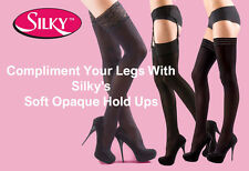Soft Opaque Microfiber Hold Ups, Stockings 70, 40 Denier Free Shipping