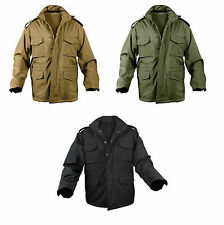 M-65 SOFT SHELL Tactical Field Jacket Waterproof US Army Navy USMC Marine Corps