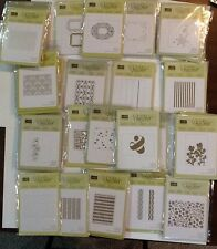 Stampin' Up! RETIRED EMBOSSING FOLDERS, Great Selection , RARE HTF