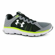 Under Armour Micro G Assert Trainers Shoes Mens Grey Sports Trainers Sneakers