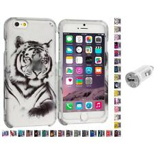 For Apple iPhone 6 PLUS 5.5 Design Hard Snap-On Case Cover USB Charger