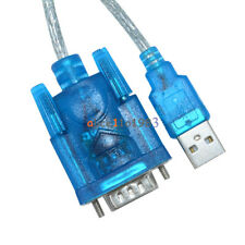 2/5/10PCS USB to RS232 Serial Port 9 Pin DB9 Cable Serial COM Port Adapter