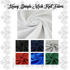 Heavyweight Athletic Wear Dimple Mesh Fabric by the Yard