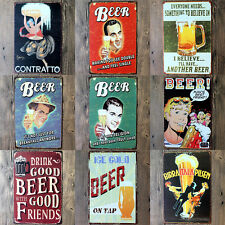 New Vintage Metal Tin Sign  Poster Plaque Bar Club Wall Tavern Garage Home Decor