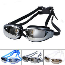 Professional Adult Waterproof Anti-Fog UV Protection Swimming Goggles