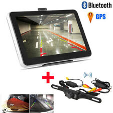"7"" Car GPS Navigation 8GB Wireless Rear view Camera Bluetooth AV-IN New Map"