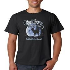 Deer Hunting T Shirt Buck Fever Theres No Cure Get Out And Get Some