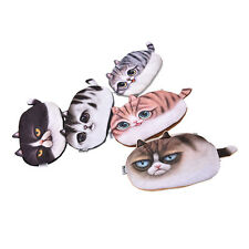 NEW 1X  Cat Face Tail Coin Purse Kids Wallet Bag Change Pouch Key Holder JOPW