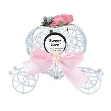 5X Party Birthday Wedding Cinderella Carriage Candy Chocolate Boxes Favour Craft