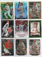 2012-2014 Topps Panini Bowman Chrome [ Joey Votto ] Parallel Base Card Pick List