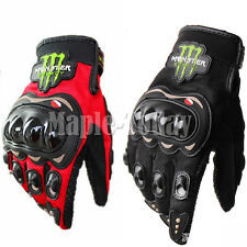 Full Finger Motorcycle Racing Bike Glove Protective Armor Bicycle Riding Gloves