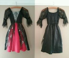Girls Halloween Costume, Witches Dress, Age 5-6