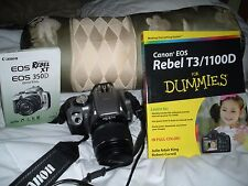 Canon EOS Digital Rebel XT / EOS 350D 8.0 MP Digital SLR Camera - Black (Kit...