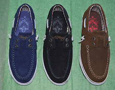 Ed Hardy Womens Leather Boat Shoes - NEW - Free Shipping!