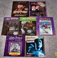 Lot of 7 Harry Potter Poster * Coloring * Sticker Books Some NEW