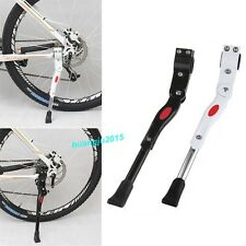 New Heavy Duty Adjustable Mountain Bike Bicycle Cycle Prop Side Rear Kick Stands