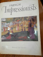 Arbams Art Book French Impressionists 16 Beautiful Color Prints 1955 G. Seuret