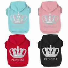 Small Pet Dog Coat Warm Jumpsuit Clothes Puppy Cat Hoodie Sweater Sweatshirt New