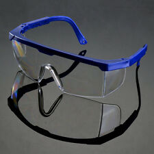 Actual Safety Eye Protection Clear Lens Goggles Glasses From Lab Dust Paint new