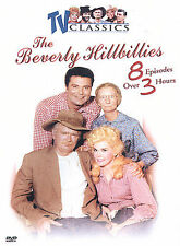 THE BEVERLY HILLBILLIES ~ TV CLASSICS ~ 8 HILARIOUS EPISODES CLASSIC COMEDY DVD