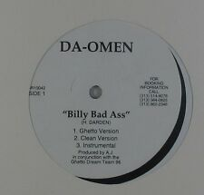 "Da-Omen - Billy Bad Ass 12"" - Rap SEALED"