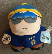LIMITED EDITION SOUTH PARK ERIC CARTMAN POLICE OFFICER PLUSH SOFT TOY WITH TAGS