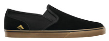 EMERICA PROVOST CRUISER SLIP BLACK GUM MENS SKATEBOARD SHOES FREE POST AUSTRALIA