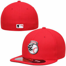 CINCINNATI REDS MLB ON FIELD AUTHENTIC NEW ERA 59FIFTY FITTED RED BP HAT/CAP NWT