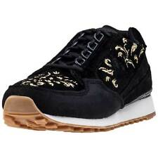 Le Coq Sportif Eclat W Embroidery Mens Trainers Black Gold New Shoes