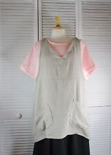 Terrace Hanky Linen Pull Over Tunic in12 Colors 1X 2X 3X 4X  Blue Fish Red Moon
