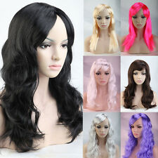 "Excellent Quality Women Wig 19"" 20"" Real Synthetic Straght wavy Curly Full Wigs"