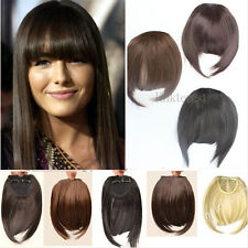 USA lowest price fashion Clip In On Bang bangs Fringe Hair Extension Extensions