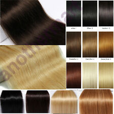 18/20/22/24'' UK Sell Thick Double Full Weft Clip In Human Hair Extensions Weave