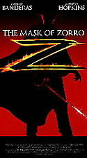 The Mask of Zorro (VHS, 1998, Closed Captioned)