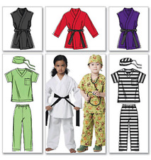 McCalls Easy McCalls Childrens/Boys/Girls Sewing Pattern 6184 Costumes Judo