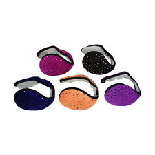 NEW Fleece Ear Muff Solid Color Unisex Ear Warmers One Size Sparkly Style Muffs