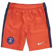 Nike Paris St Germain PSG 2016 2017 Shorts Juniors Red Football Soccer