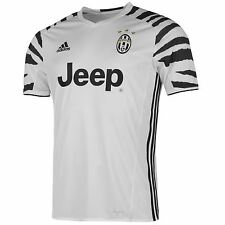 Adidas Juventus Third Jersey 2016 2017 Mens White/Black Football Soccer Shirt