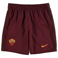 Nike AS Roma Home Shorts 2016 2017 Juniors Maroon Football Soccer