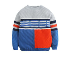 New children's clothing children boys pullover sweater jacquard knit sweater