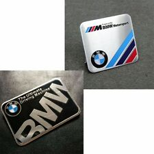 Aluminum BMW Motorport Emblem Badge Decal Sticker for BMW 1 2 3 4 5 SERIES X1 X3
