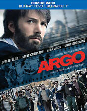 Argo (Blu-ray/DVD, 2013, 2-Disc Set, Includes Digital Copy; UltraViolet)