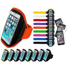 For Apple iPhone 6 (4.7) Armband Arm Band Case+3X Anti Glare Screen Protector