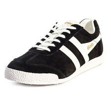Gola Harrier Mens Trainers Black White New Shoes