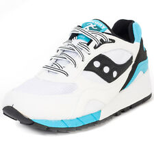 Saucony Shadow 6000 Mens Trainers White Black New Shoes