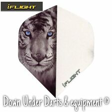 10 Sets Ruthless Invincible i-Flight Tiger Dart Flights - FREE POSTAGE